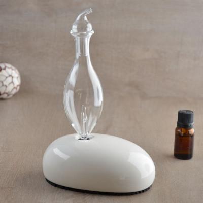 Diffuseur d'huiles essentielles DAN par nébulisation fonction minuterie verrerie artisanale éclairage LED