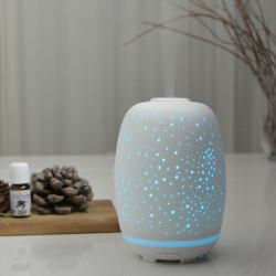 Brumisateur diffuseur ultrasons huiles essentielles à froid silencieux nébulisation senteurs vertus bienfaisantes ceramique
