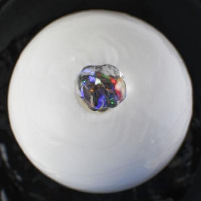 Fontaine d'intérieur Cristal Line Zen Flow atmosphère zen relaxation détente décoration éclairage LED