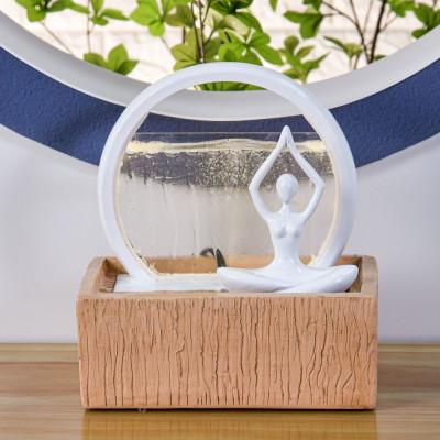 Fontaine interieur design moderne feng shui vitality relaxation détente atmosphère zen